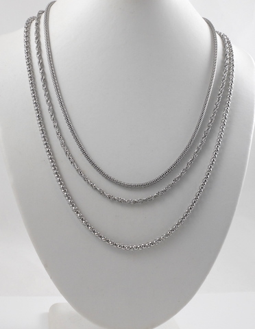 3 Stainless steel chains