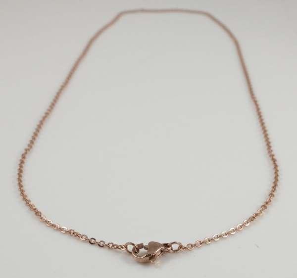 small flat curb chain