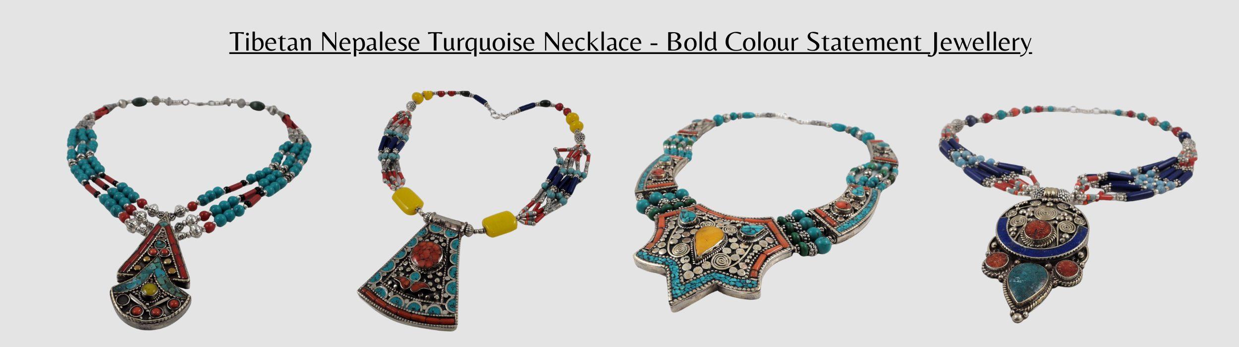 Tibetan Nepalese Necklaces