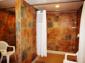 Guests rave about our showers and bathrooms.