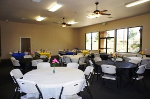 Meeting Room Decorated for a party