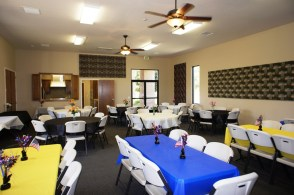 Decorated Group Meeting Room