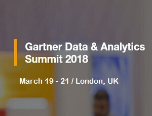 Gartner Data & Analytics Summit | London, UK- 2018