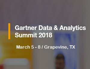 Gartner Data & Analytics Summit | Grapevine, TX- 2018