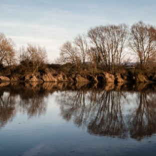 A winter view of the Severn
