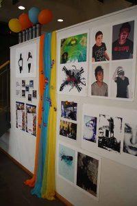 Utstilling av arbeider fra web & grafisk praksisplass på Bydel Gamle Oslo