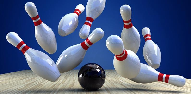 Bowling med Riverside ungdomshus