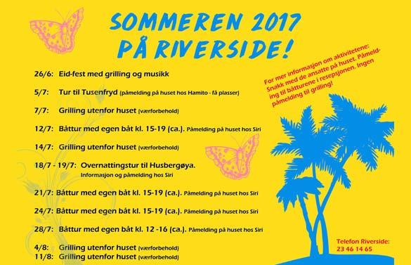 Sommeren på Riverside
