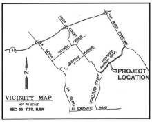 Fairway Drive Map