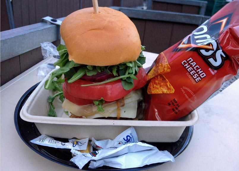 $27 Hollywood Bowl Burger