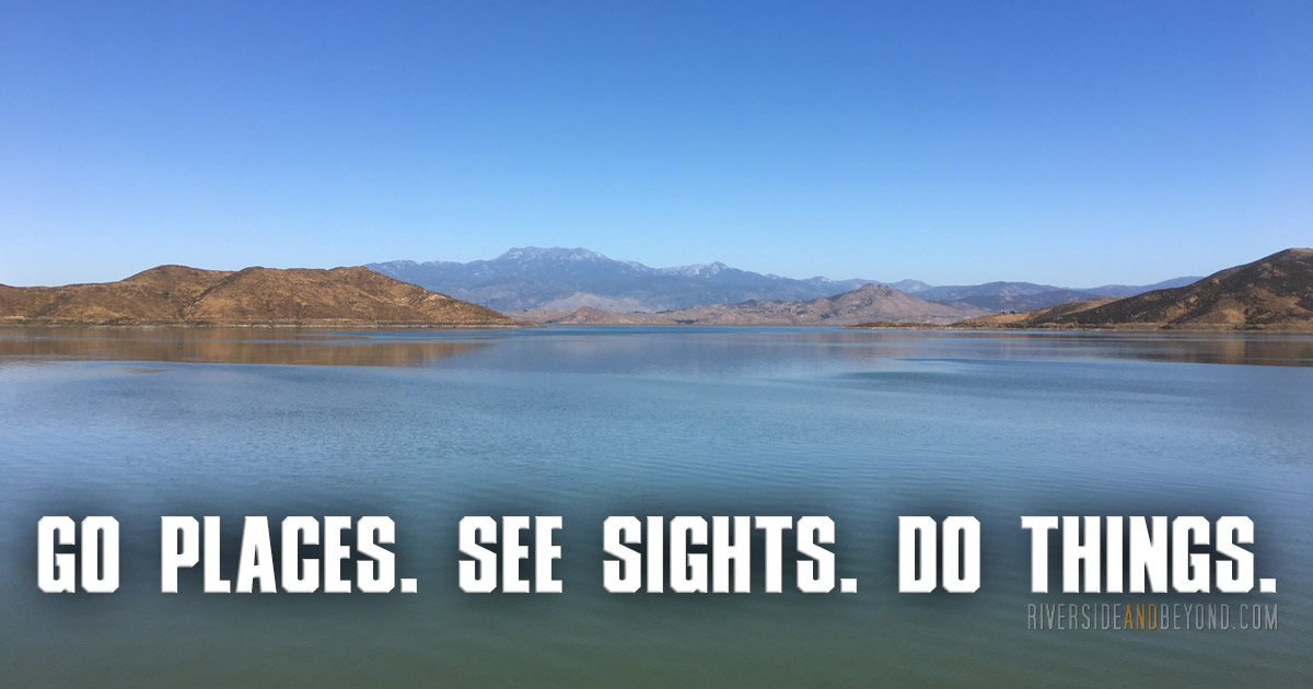 Go places. See sights. Do things. Riverside And Beyond