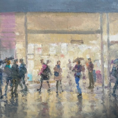 Shoppers by Rod Pearce