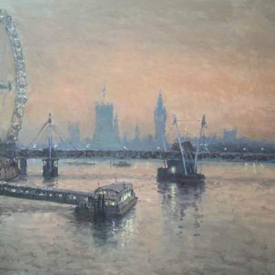 Westminster by Rod Pearce Riverside Gallery Barnes