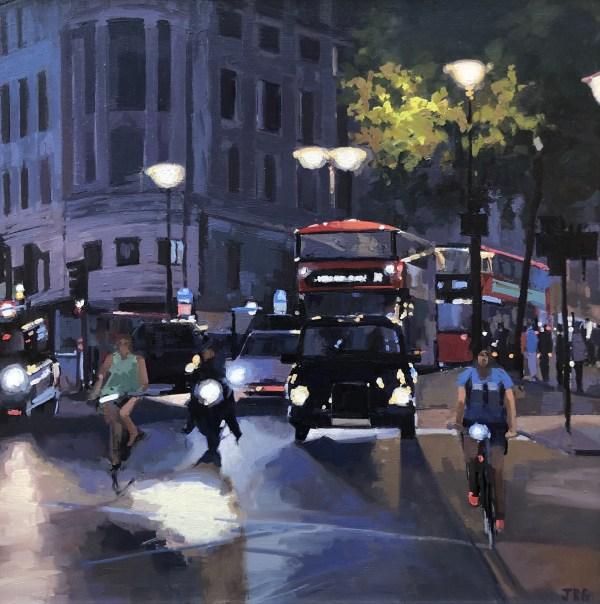 Evening Rush by Jennifer Greenland Riverside Gallery Barnes