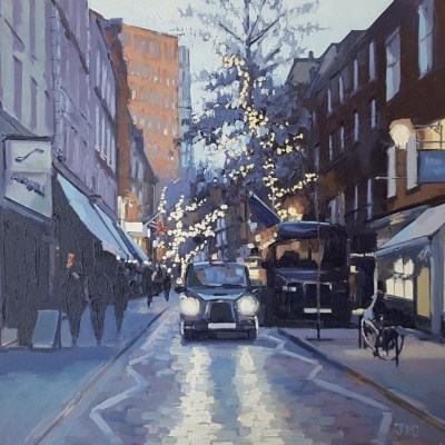 Monmouth Street, Dusk by Jennifer Greenland