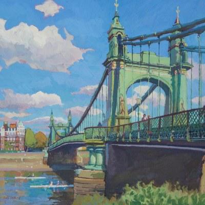 Hammersmith Bridge by Gary Jeffrey