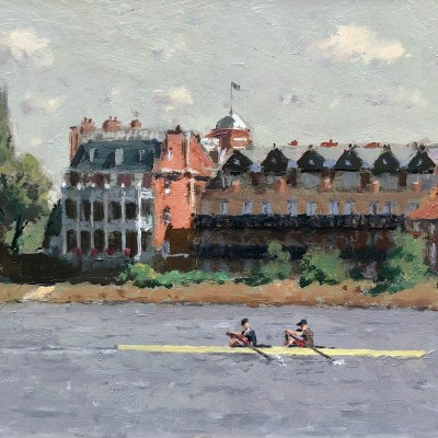 Two's Company by Rod Pearce Riverside Gallery & Framing Barnes