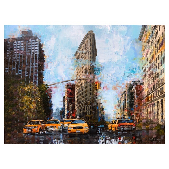 Flatiron New York by Paul McIntyre Riverside Gallery & Framing