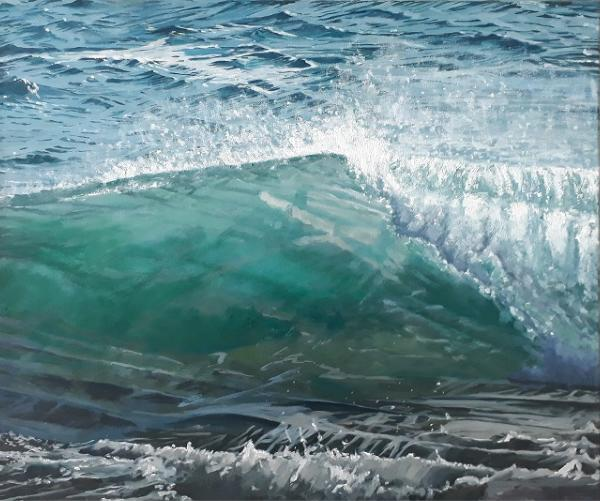 Green Wave by Lesley Dabson