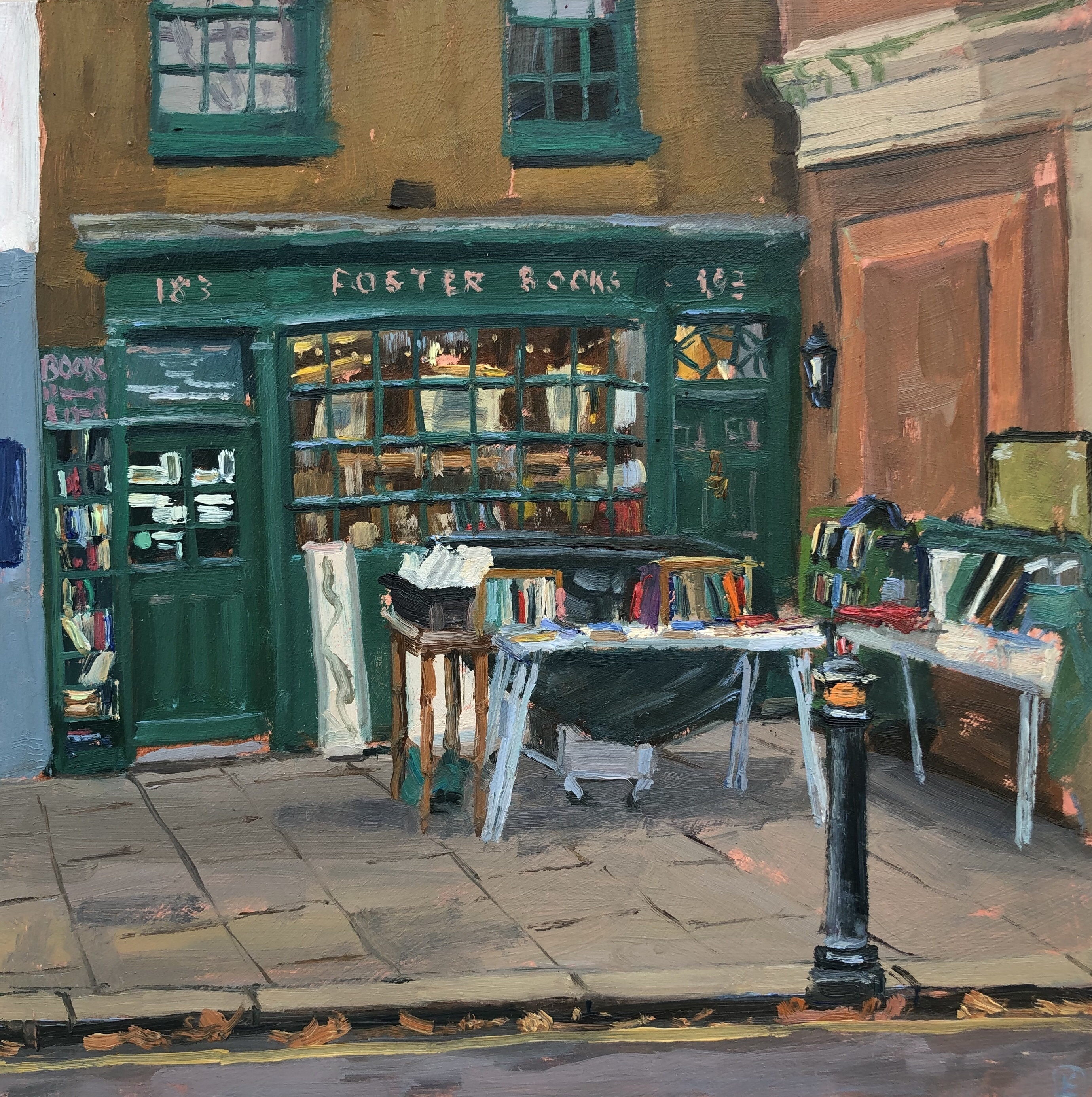 Foster's Bookshop, Chiswick by Lesley Dabson