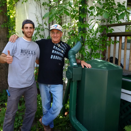 Those involved in the Toronto RainCAP rain barrel pilot project have been very happy with the installations!