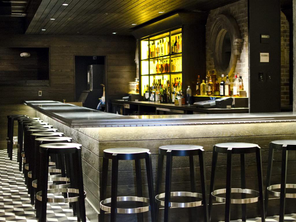 Zinc Bar Top Brass Union Restaurant Somerville MA