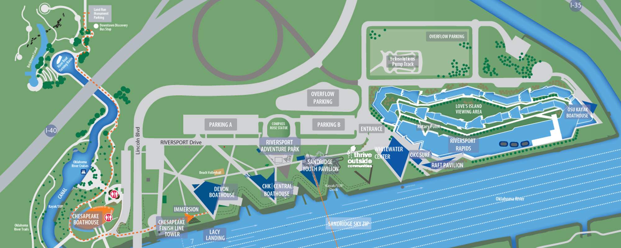 Boathouse District Map 2017