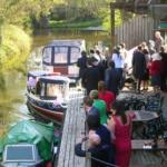 Wedding Boat at Granary