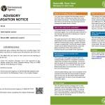 Bures Mill – Advisory Navigation Notice + Low Water Level Factsheet