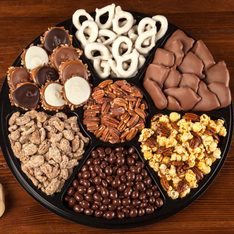 Party Platter Of Sweets Deluxe Candy Gift Boxes River