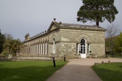 "alt=""Photo of Margam Park Orangery"""
