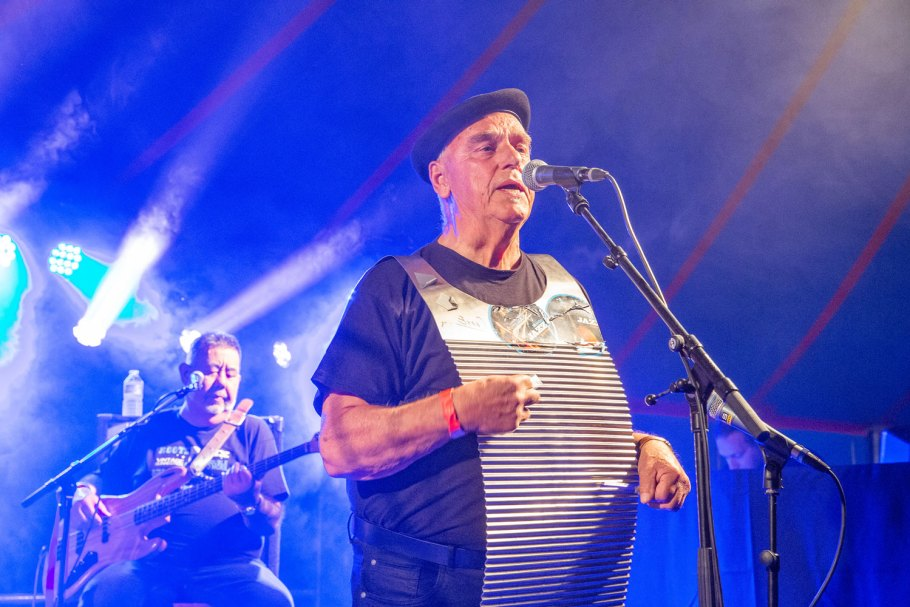 Cees Emmen - River Zydeco Band @ ZydecoZity 2019 - Photo: Angelina Swart