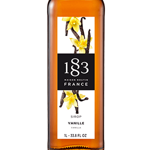 1883 vanilla syrup