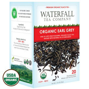 Earl Grey organic tea