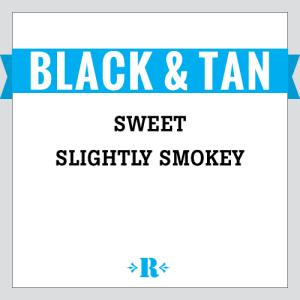 Black and Tan medium dark blend