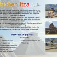 Air tour to Chichen Itza from Cozumel cruise port