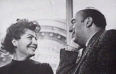 Pablo Neruda e Matilde Urrutia.