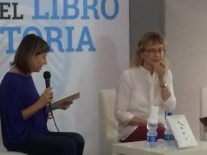 Titta Fiore dialoga con Cristina Comencini al Salone del Libro di Napoli