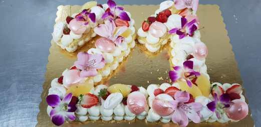 Cream Tart. Pasticceria Siciliana.