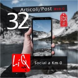 Pubblicazione 32 articoli
