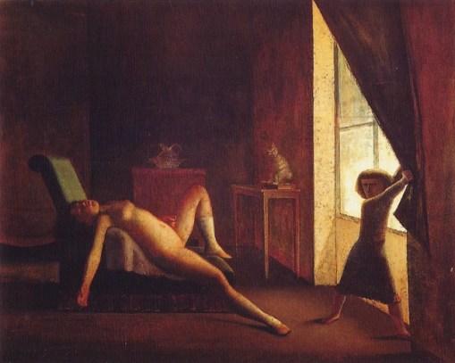 La Chambre, Balthus, 1952-1954