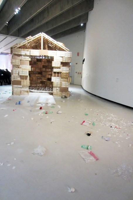 Sisley Xhafa, exhibition view, MAXXI