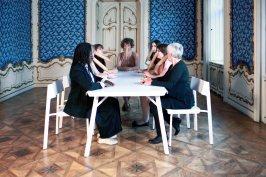 p. 087_ARTEFORTE_Forte superiore di Nago_Alessandro Casciaro Art Gallery_Sissa Micheli_The Senate of the Pinocchie_2012_c-print_140x200 cm