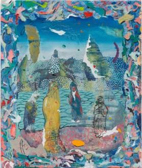 Tom Anholt, The Memorial, 2015, Oil on p…el, 60x50 cm