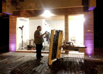 Federico Losito lavora in notturna