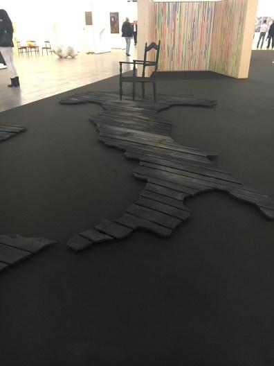 Julia Bornefeld, Alba, 2015, Antonella Cattani contemporary art, Bolzano,ArtVerona 2016.