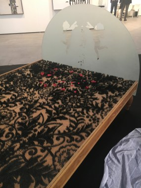 Mario Fallini, La promessa sposa, 1997-1998, Galleria Lara e Rino Costa, Valenza (AI),ArtVerona 2016.