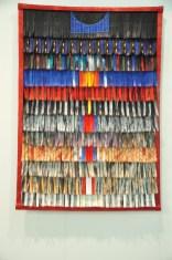 Abdoulaye Konaté - Couronne bleu 2016 - Primo Marella Gallery - Milano