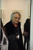 Gilberto Zorio in visita ad Artissima 2016