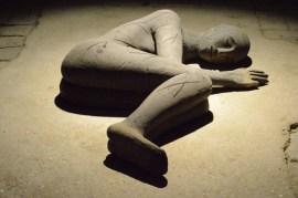Domenico Paladino, I dormienti, terracotta, 2008 115x77x32 cm